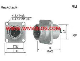 Nanaboshi NJC Connector, Receptacle S Type & G Type