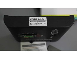 Solar Charge Controller LED 10A - Leinfer