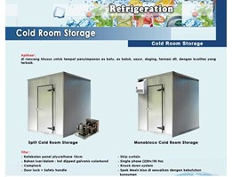 Cold Room - Cold Storage