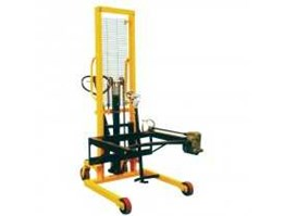 Jual Hydraulic Drum Lifter with Turner 400kg