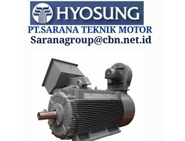 PT Sarana Teknik Hyosung Electric DC AC Motor High Medium Voltage