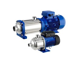Jual Lowara E-HM Horizontal Multistage Centrifugal Pumps