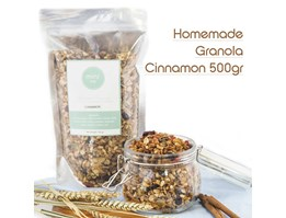 Homemade Granola Cinnamon