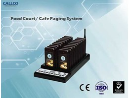 Cafe Paging System 20 Receiver - Wireless Calling System