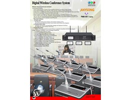 Digital Wireless Conference System PMM9911 Series