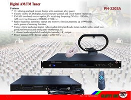Digital AM/ FM Tuner