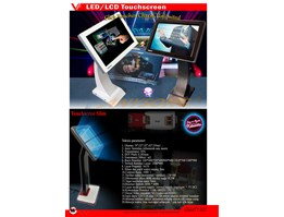 Jual LED/LCD Touchscreen For Computer & Karaoke Player