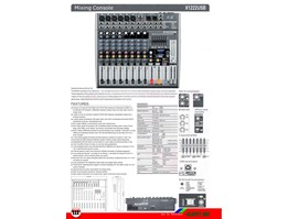 Mixing Console X1222USB