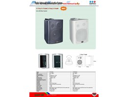 Jual Active Wall Mount Speaker T-776A/T-776AW