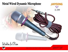 Jual Metal Wired Dynamic Microphone E-399