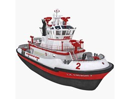 Jual Fire Fighting Boat