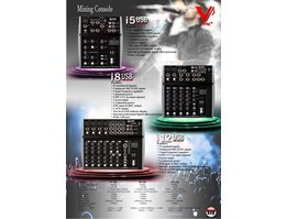 Audio Mixing Console i Series