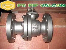 Jual Jual API 2PC Flanged Floating Ball Valve