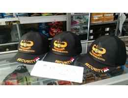 Topi Security Bahan Oscar