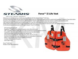 Survival Jacket - Work Vest-Inflatable Jacket - Life Jacket