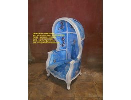 Kursi Tunggu, Jepara Furniture Mebel Indonesia Canopy Kid Chair DFRIC, CKC