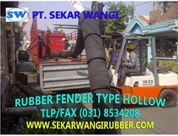 Rubber Fender Type Hollow - Silinder