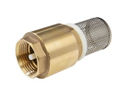 Foot Check Valve With Filter