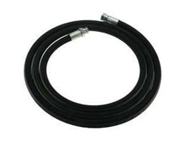 Jual 4 M Black Rubber Hose With 1 Fittings