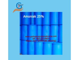 Jual Amoniak 25% Drum Plastik