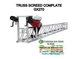 Truss Screed Complete + GX270