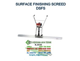 Jual Surface Finishing Screed DSFS 1