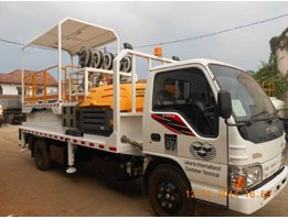 Jual Service Truck With Hydraulic Scissor Lift