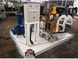 Jual Fuel Suction & Dispensing Module On Skid Fuel Station