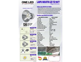 Jual Lampu Industri Led 150 Watt - Li Sol - 150/AC