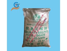 Sodium Metabisulphite Food Grade SO2 65%