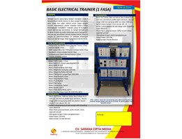 Basic Electrical Trainer (3 Fasa)