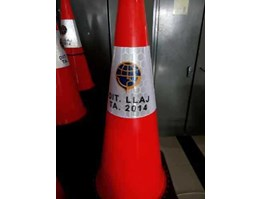 Kerucut lalu lintas - Traffic rubber cone - Safety cone - Rubber cone
