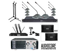 Paket Sound System dan Wired Conference Set Audiocore