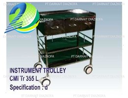 Jual CMI Instrument Trolley 355 (d)