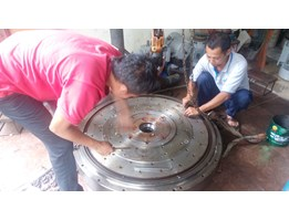 Rewinding Table Magnetic/Gulung Meja Magnet