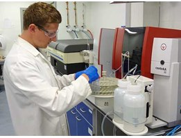 AAS (Atomic Absorption Spectrophotometer)