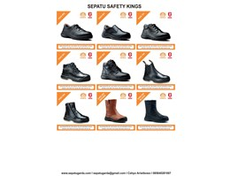 Sepatu Safety Shoes Kings