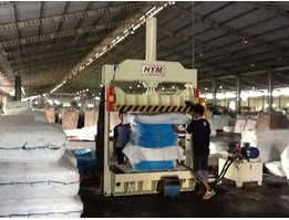 Jual HYM.BPV.07 ~ Custom Made For Baling Compacting Woven Plastic Bags