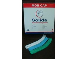 Jual Mob Cap, Hairnet, Nurse Cap, Topi Pabrik Non Woven Disposible