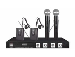 Audiocore WHL-1040V (2 Handheld and 2 Clip On / Headset)