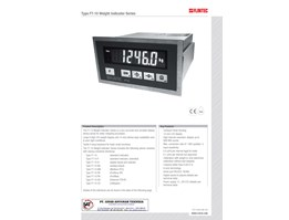 Flintec FT-10 Weight Indicator