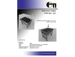 Jual Welding Table