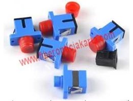 Adapter / Coupler Konektor Fiber Optic SC-FC Single Mode