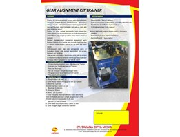 Jual GEAR ALIGNMENT KIT TRAINER