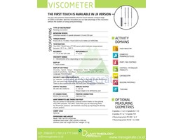 Jual Viscometer Digital First Touch