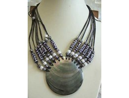 Jual Kalung Black Mop Shell Necklace