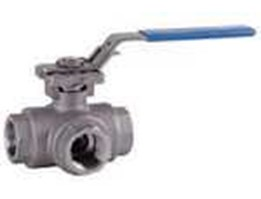 Jual BEE- 3-Way ball valve made of stainless steel