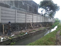 Jual Pagar Beton Knock Down