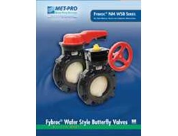 Jual Fybroc® Series NM WSB Wafer Style Butterfly Valves