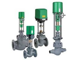 Jual RTK Valves - Control valves with electric actuator